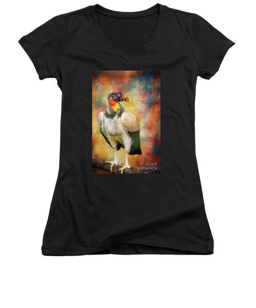 King Vulture Women's V-Neck