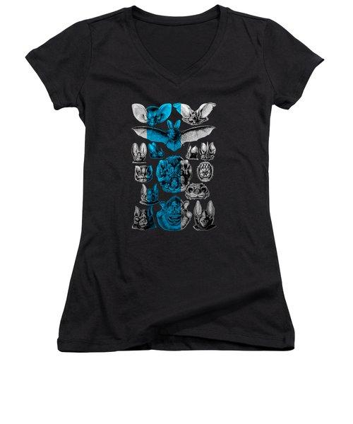 Kingdom Of The Silver Bats Women's V-Neck T-Shirt