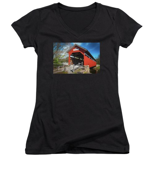 Kings Bridge Women's V-Neck