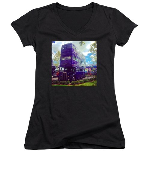 The Knight Bus Women's V-Neck