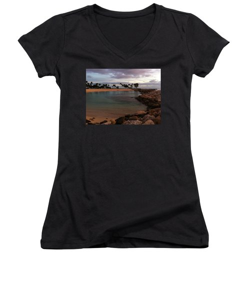 Ko Olina Women's V-Neck (Athletic Fit)