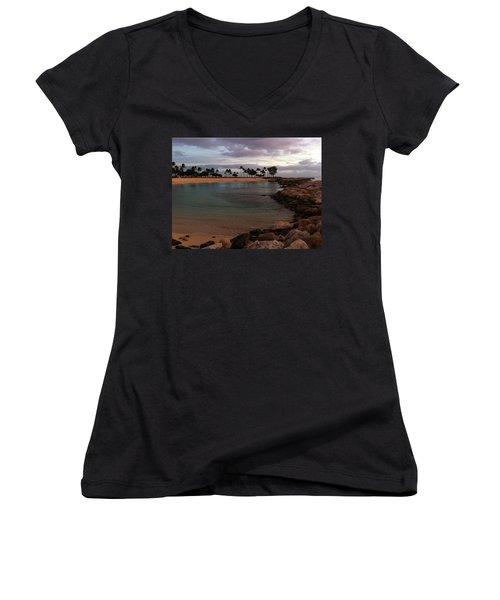 Ko Olina Women's V-Neck T-Shirt