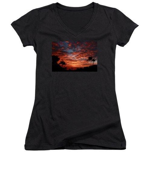 Kona Fire Sky Women's V-Neck