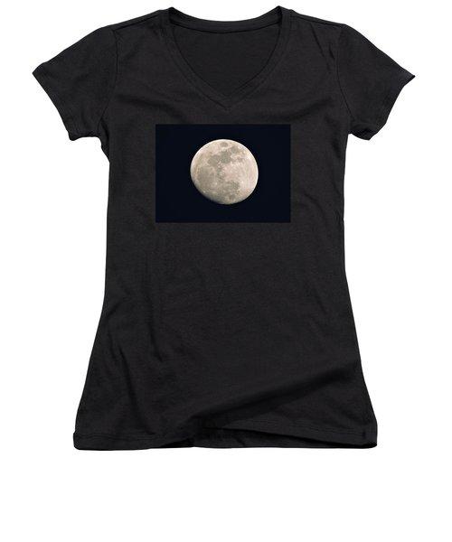 La Luna Women's V-Neck T-Shirt