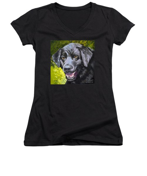 Lab Out Of The Pond Women's V-Neck