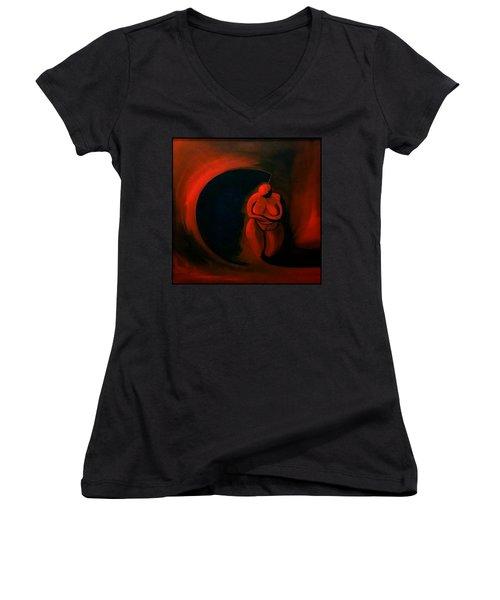 Lady Willendorf Women's V-Neck T-Shirt