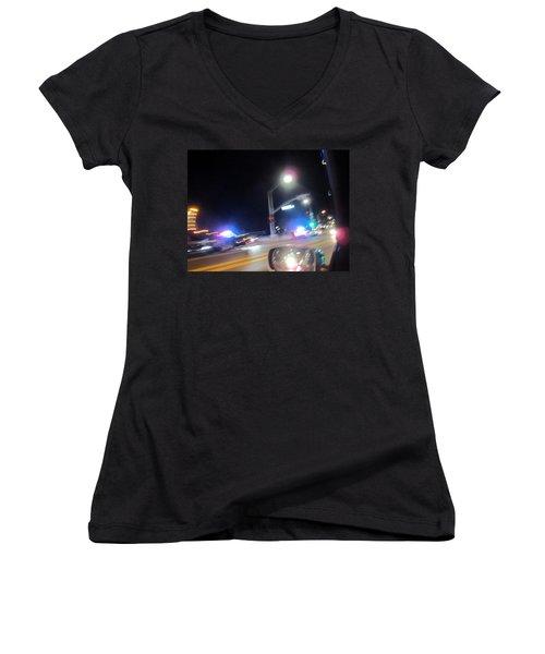 Laguna Night Women's V-Neck T-Shirt