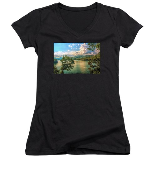 Lake Burton Women's V-Neck