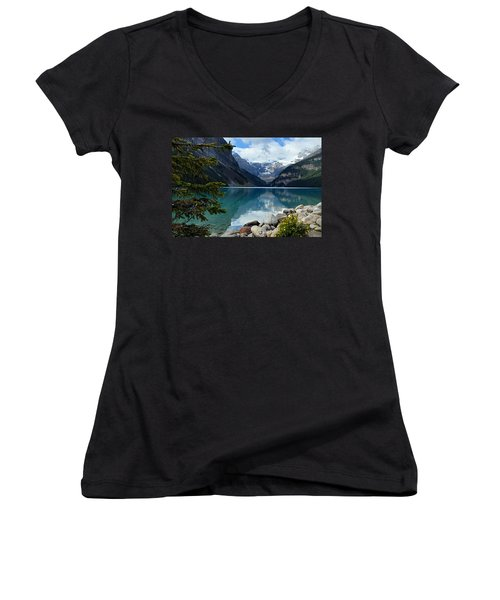 Lake Louise 2 Women's V-Neck (Athletic Fit)