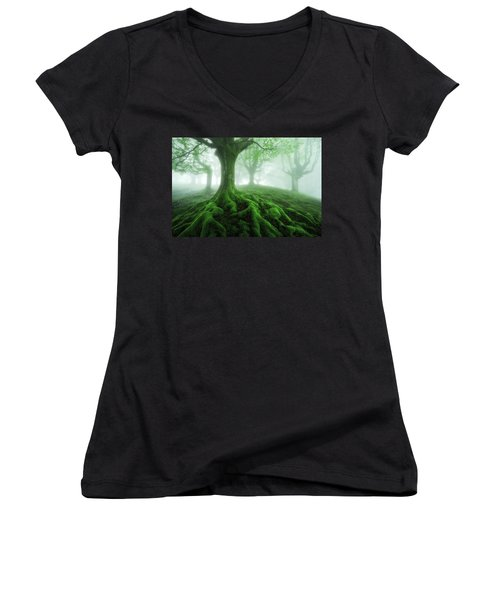 Land Of Roots Women's V-Neck