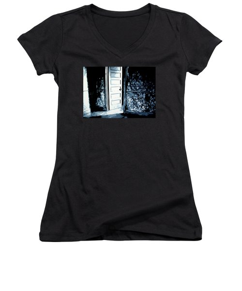 Laura's Painting Women's V-Neck T-Shirt