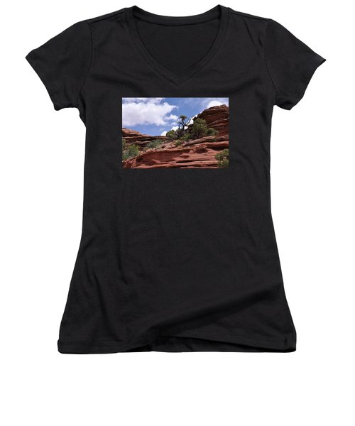 Layers Upon Layers Women's V-Neck