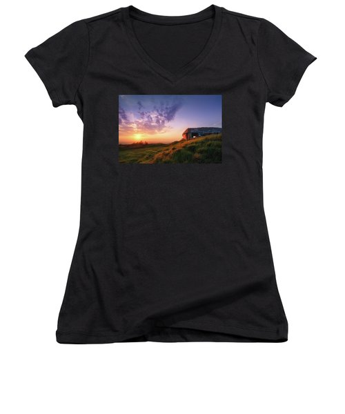 Legacy Of The Ancients Women's V-Neck