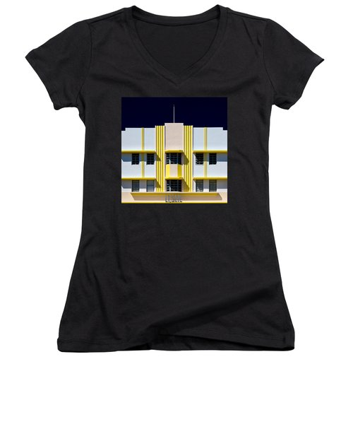 Leslie Hotel Women's V-Neck