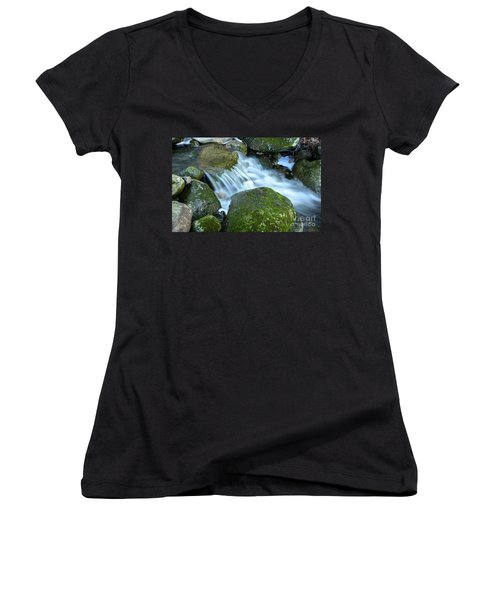 Life Women's V-Neck T-Shirt (Junior Cut) by Alana Ranney