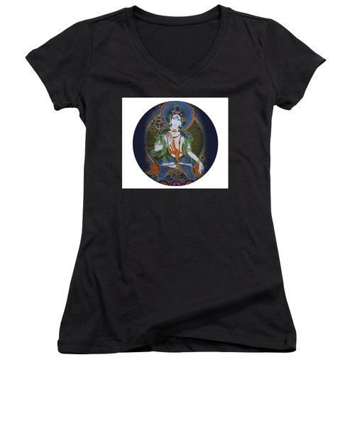 Light Giving Shiva  Women's V-Neck