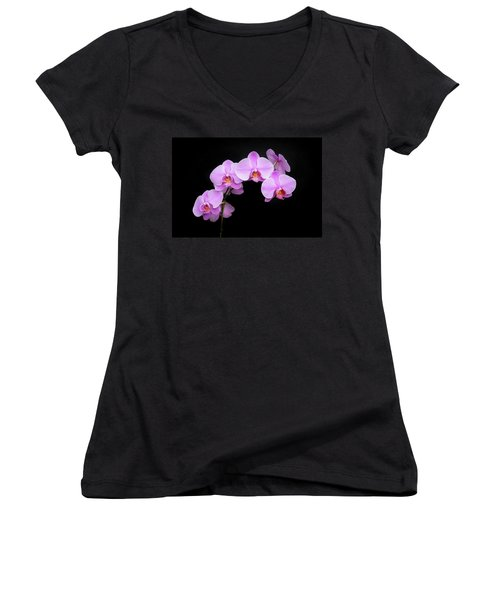 Light On The Purple Please Women's V-Neck