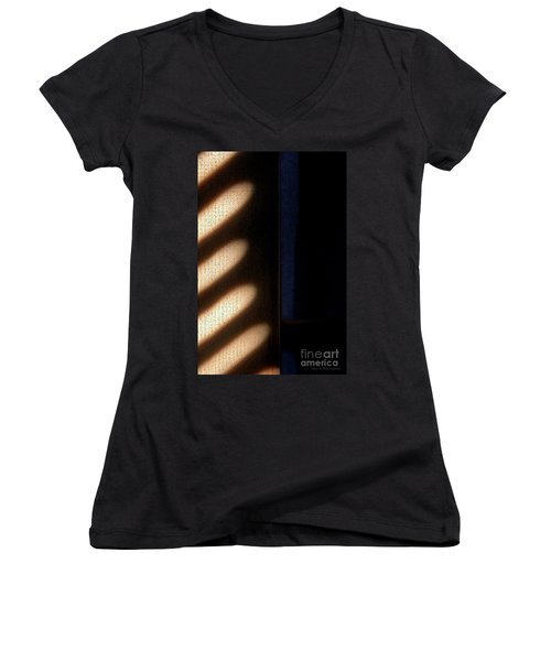 Light Rays Women's V-Neck