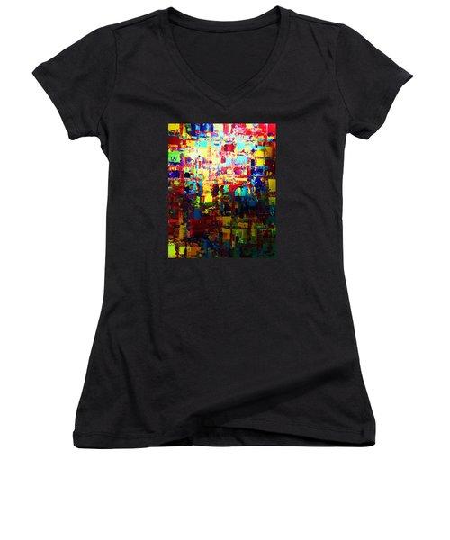Lighten Up Women's V-Neck T-Shirt