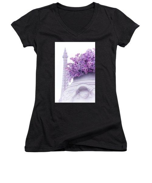 Lilac Tales Women's V-Neck T-Shirt