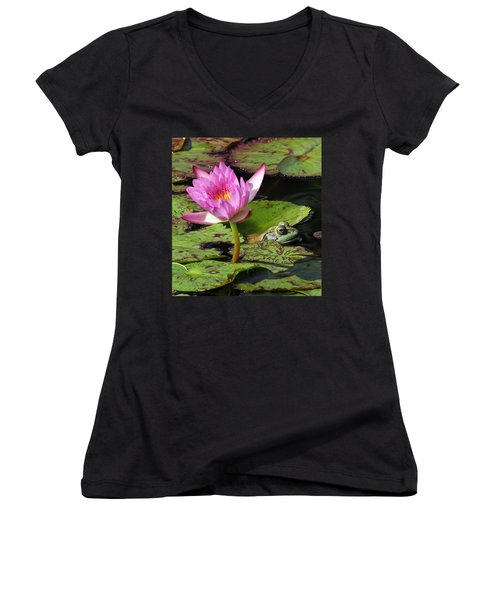 Lily And The Bullfrog Women's V-Neck