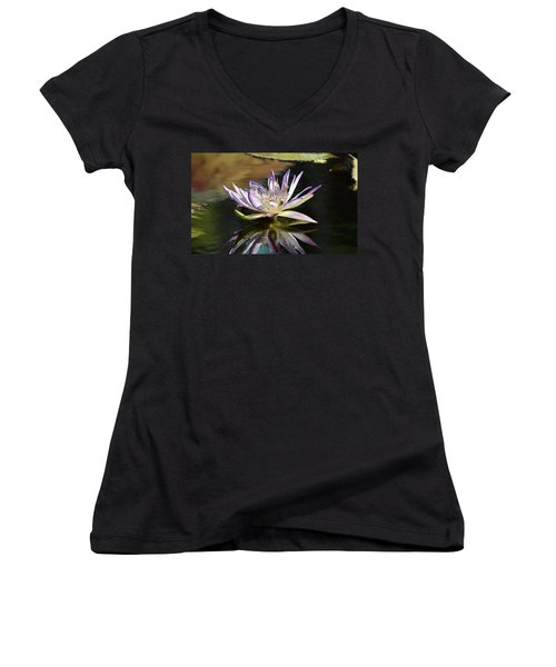 Lily Reflections Women's V-Neck