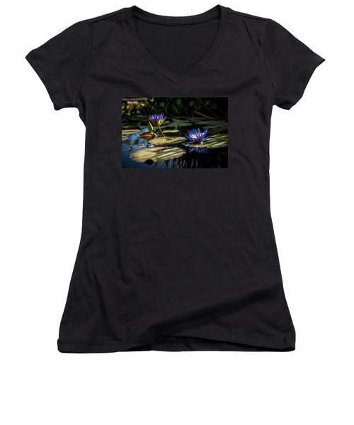 Lit From Within Women's V-Neck