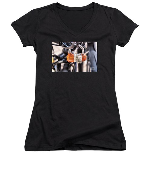 Locked Up Women's V-Neck T-Shirt