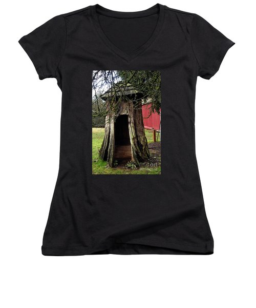 Loggers Outhouse Women's V-Neck (Athletic Fit)