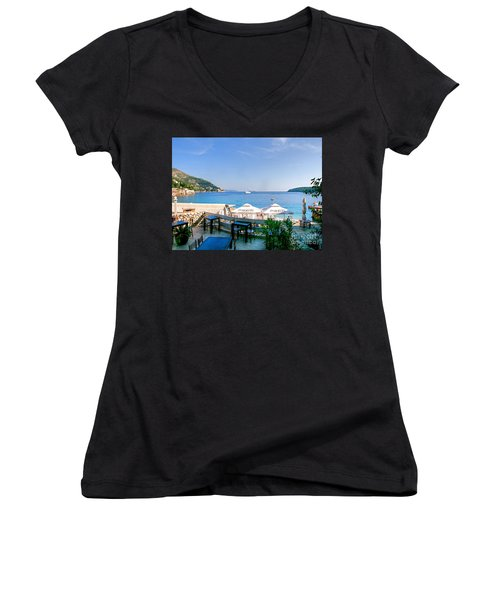 Looking To Dine Out Women's V-Neck