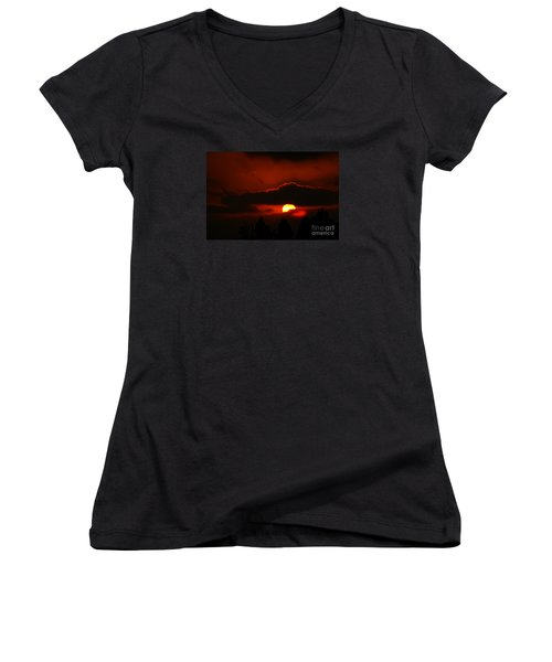 Lost In Thought Women's V-Neck