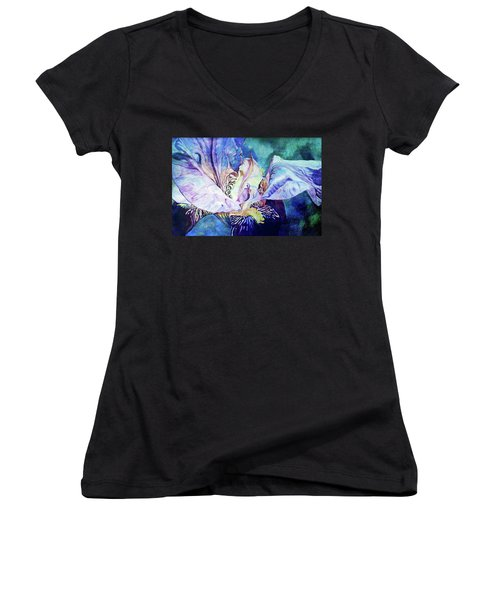 Lost Iris Passion 93 L_2 Women's V-Neck T-Shirt