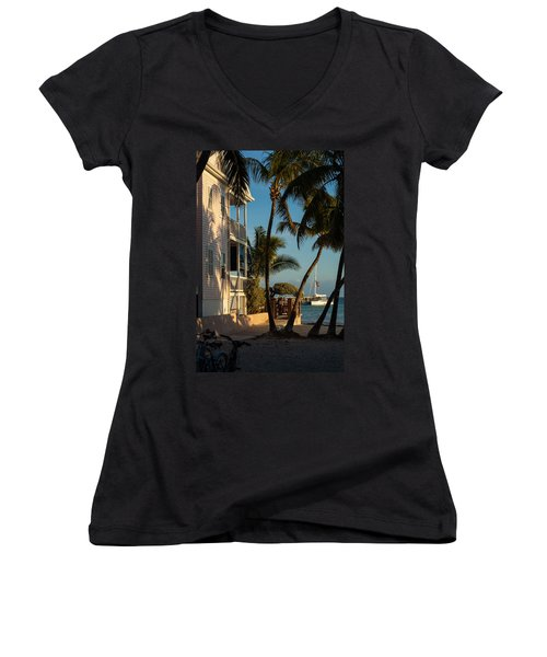 Louie's Backyard Women's V-Neck