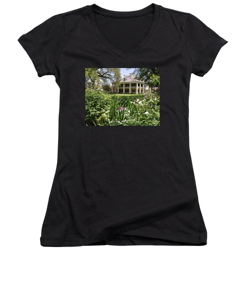 Louisiana April Women's V-Neck T-Shirt