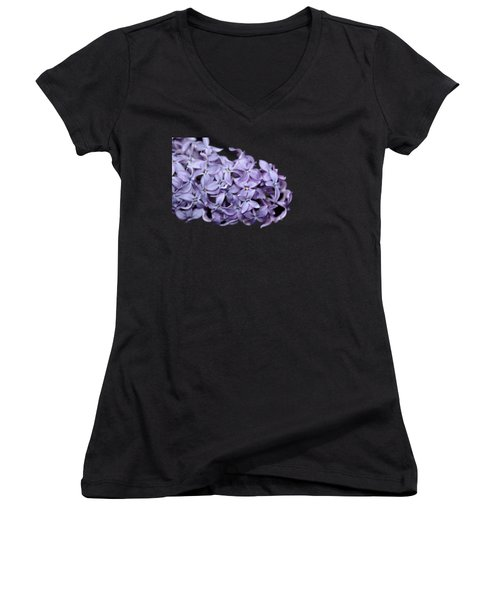 Love In Lilac Women's V-Neck (Athletic Fit)