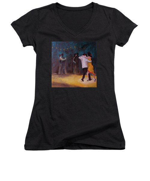 Love In The Spotlight Women's V-Neck