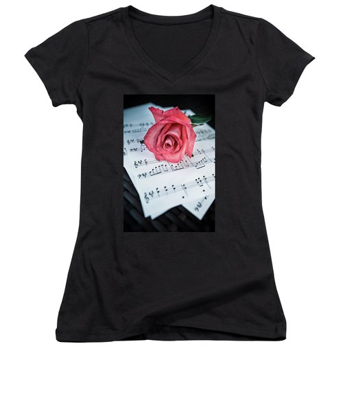 Love Notes Women's V-Neck T-Shirt