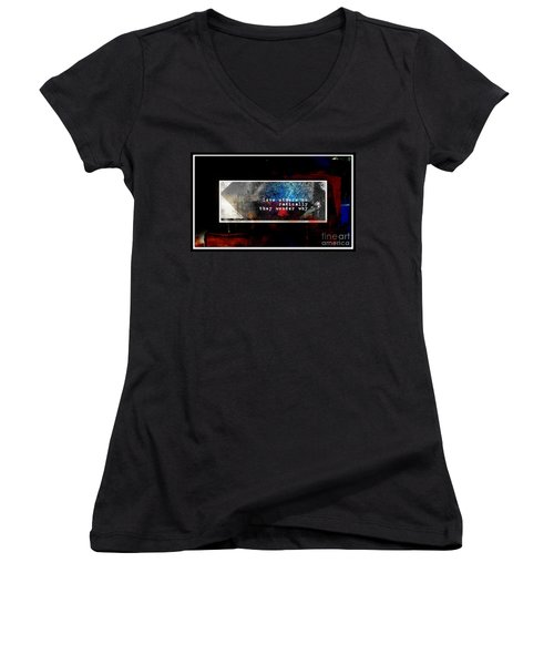 Love Radically I Women's V-Neck T-Shirt