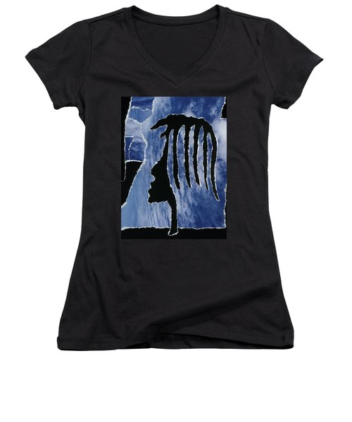 Loving And Being Loved Women's V-Neck (Athletic Fit)