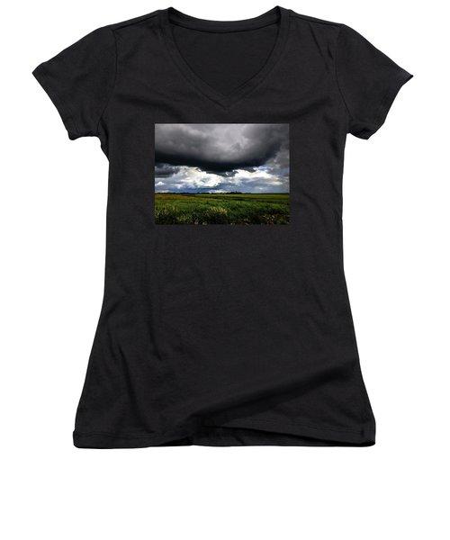 Low Cloud Women's V-Neck T-Shirt