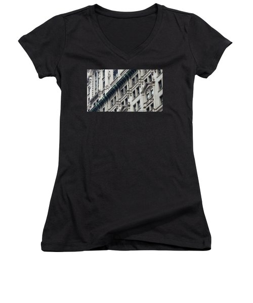 Lower Manhattan Women's V-Neck T-Shirt