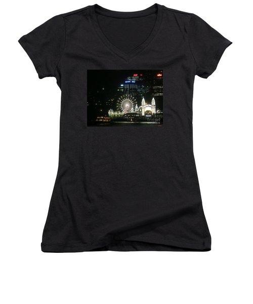 Luna Park Women's V-Neck T-Shirt