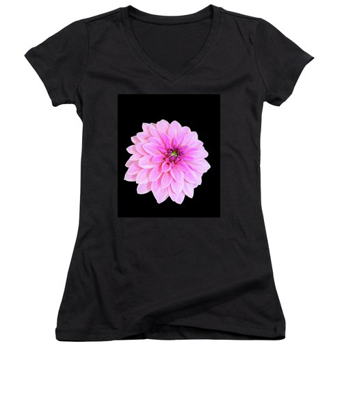 Luscious Layers Of Pink Beauty Women's V-Neck