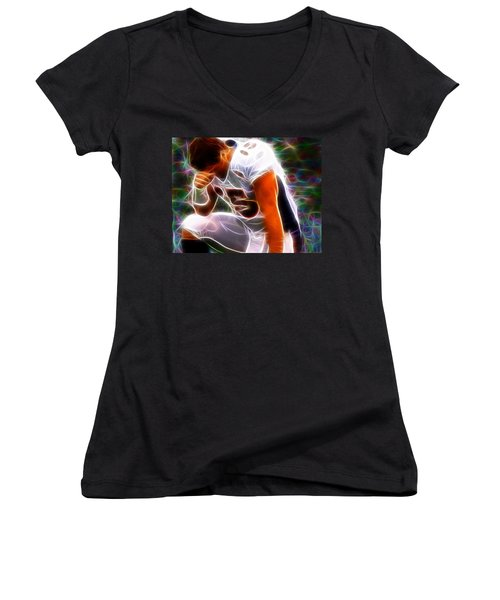 Magical Tebowing Women's V-Neck T-Shirt