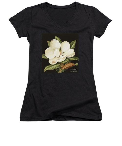 Magnolia Grandiflora Women's V-Neck
