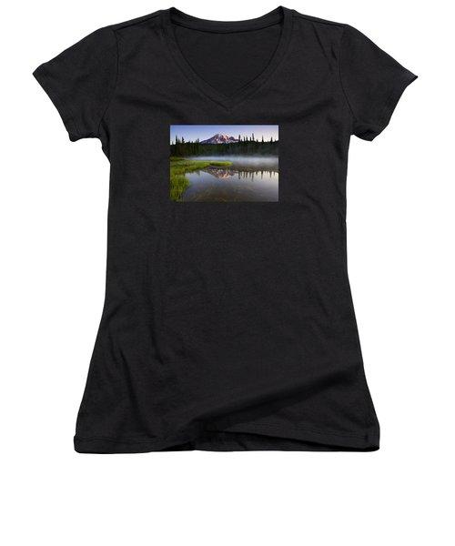 Majestic Dawn Women's V-Neck T-Shirt