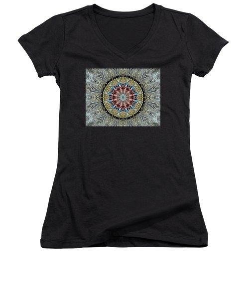 Mandala 1 Women's V-Neck