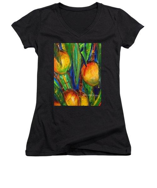 Mango Tree Women's V-Neck T-Shirt