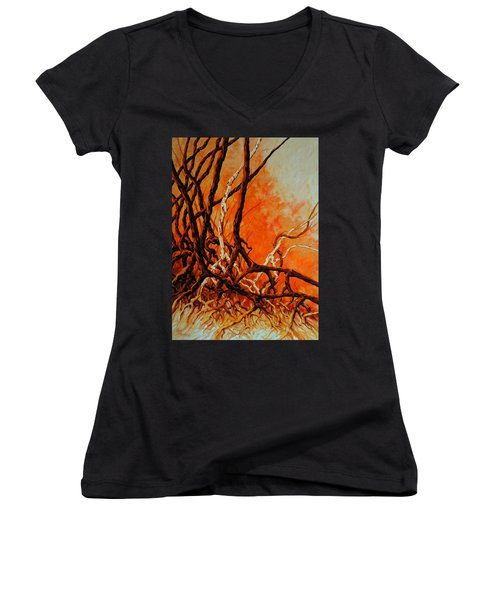 Mangroves Women's V-Neck T-Shirt