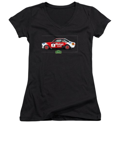 Marc Duez At Spa For T-shirt Women's V-Neck (Athletic Fit)
